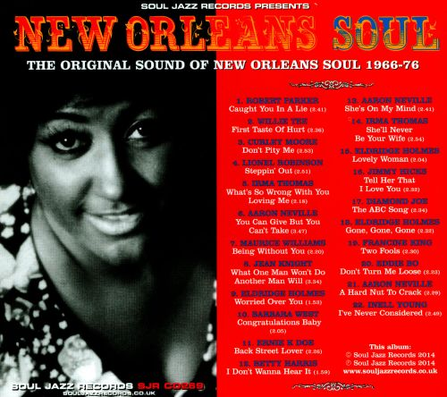 New Orleans Soul: The Original Sound of New Orleans Soul 1966-76