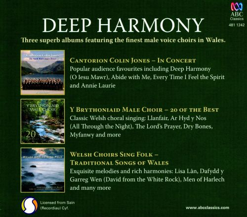 Deep Harmony: Music of the Great Welsh Choirs