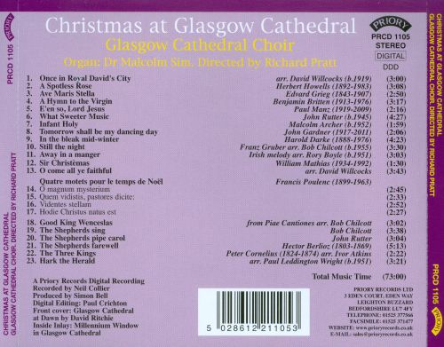 Christmas at Glasgow Cathedral