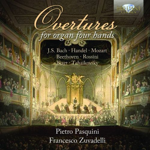 Overtures for Organ Four Hands