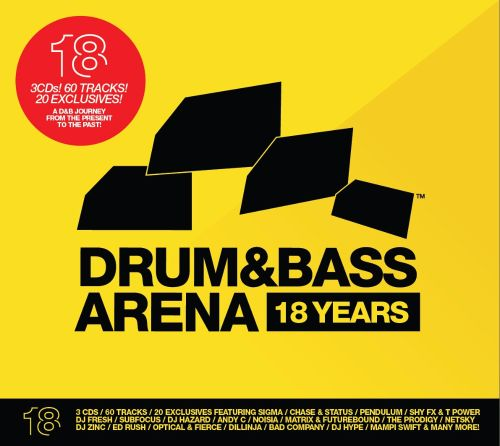 Drum Bass Arena 18 Years Various Artists Songs Reviews