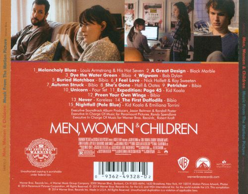 Men, Women & Children (Music From the Motion Picture)