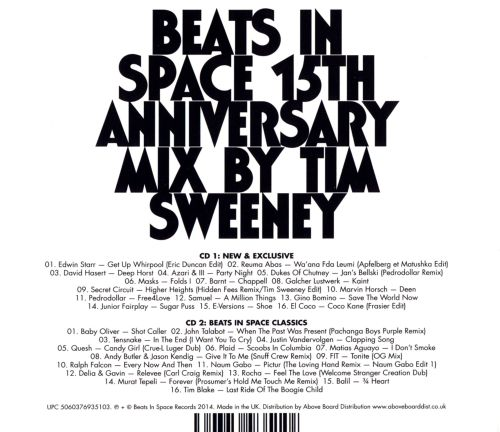 Beats In Space: 15th Anniversary Mix