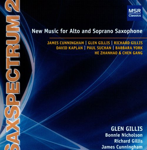 SaxSpectrum 2: New Music for Alto and Soprano Saxophone