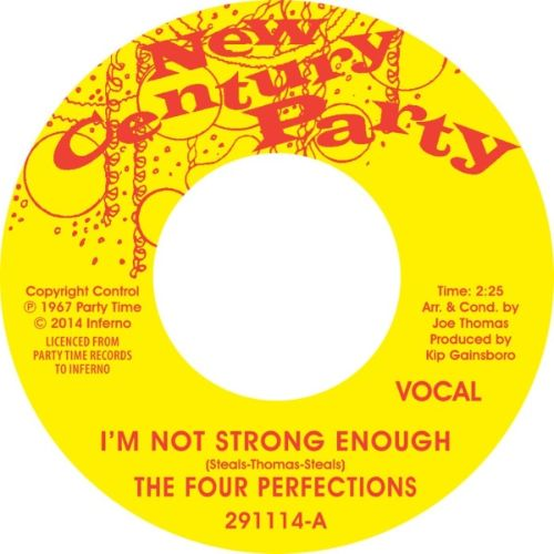 I'm Not Strong Enough/Instrumental