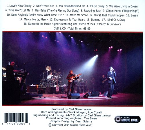 Up Close: The Definitive Live Video & CD