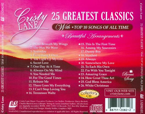 25 Greatest Classics: With Top 10 Songs of All Time
