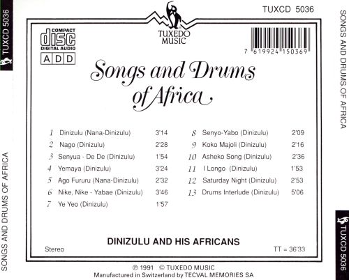 Songs and Drums of Africa