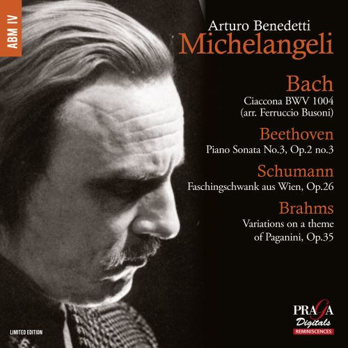 Bach: Ciaccona; Beethoven: Piano Sonata No. 3; Schumann: Faschinschwank aus Wien; Brahms: Variations