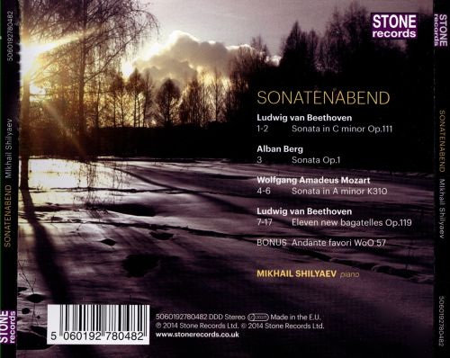 Sonatenabend: Piano music by Mozart, Beethoven &  Berg