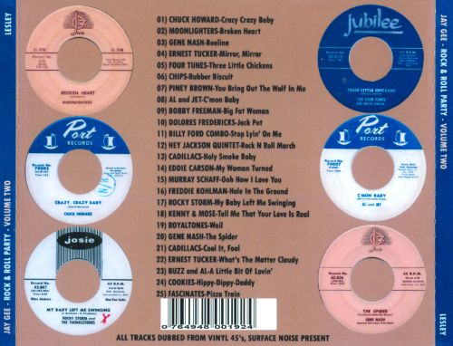 Jay-Gee Rock & Roll Party, Vol. 2