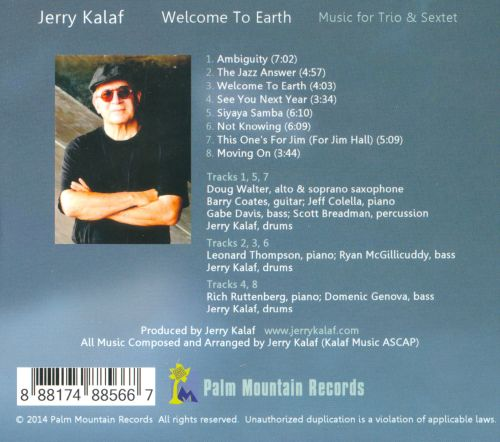 Welcome To Earth: Music For Trio & Sextet