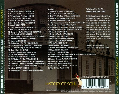 Witchcraft in the Air: Detroit Soul 1957-1962
