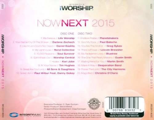 iWorship - Nownext 2015: 20 Top Worship Songs For Today & Tomorrow