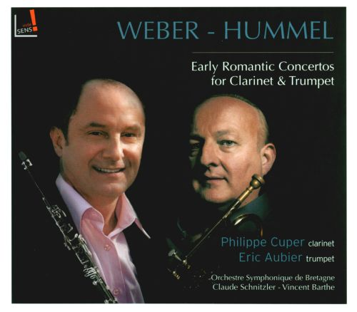 Webber-Hummel: Early Romantic Concertos for Clarinet & Trumpet
