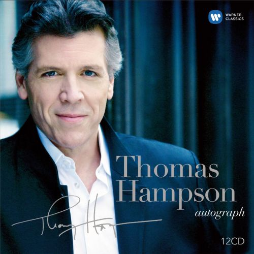 Thomas Hampson Autograph