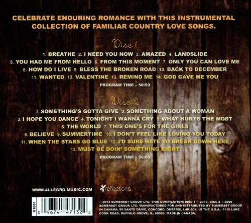 Heart Of Country: Romantic Instrumentals