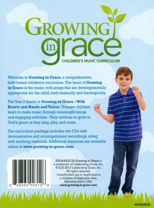 Growing In Grace: Younger Children - Year 2- Spring