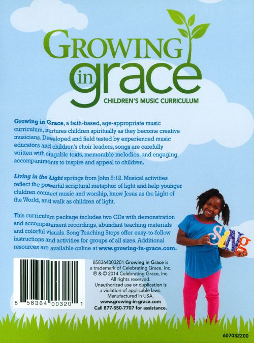 Growing In Grace: Living In the Light, Younger Children - Spring