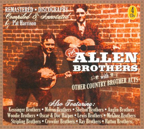 The Allen Brothers & Other Country Brother Acts