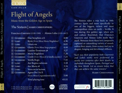 Flight of Angels: Francisco Guerrero, Alonso Lobo