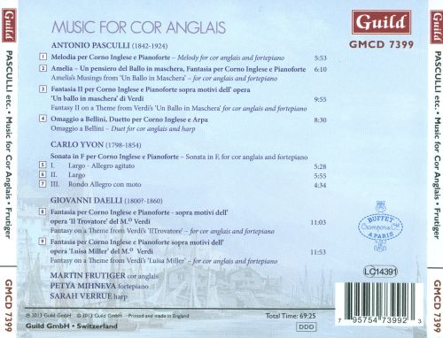 Music for Cor Anglais