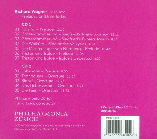 Wagner: Preludes and Interludes