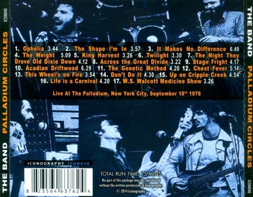 Palladium Circles: The Classic NYC Broadcast 1976