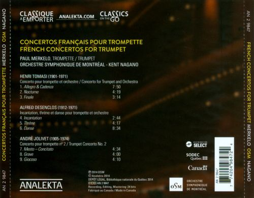 French Concertos for Trumpet