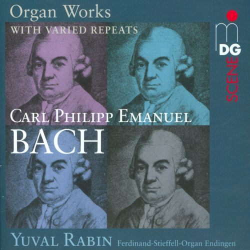C.P.E. Bach: Organ Works with varied Repeats