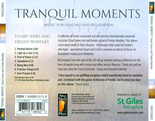 Tranquil Moments: Music For Healing And Relaxation