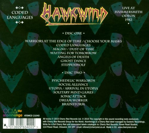 Hawkwind - Choose Your Masques (1982). science security further sector Baggies items Welcome Analisis