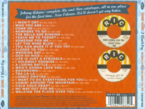 I Won't Cry: The Complete Ric & Ron Singles 1959-1964