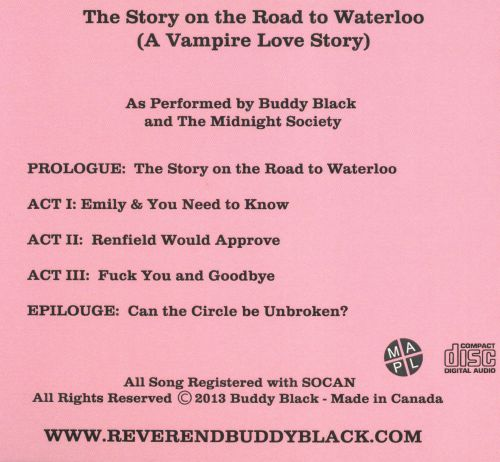 The Story on the Road to Waterloo (A Vampire Love Story)