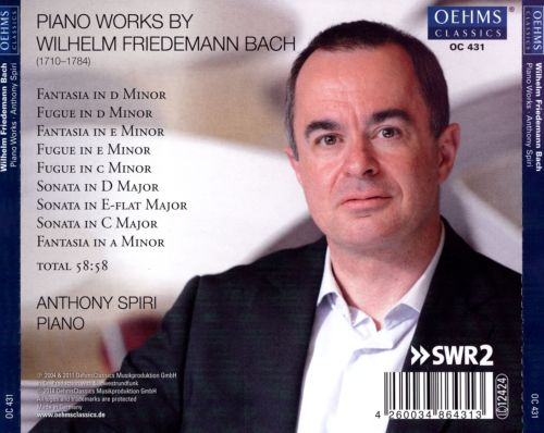 Piano Works by W.F. Bach