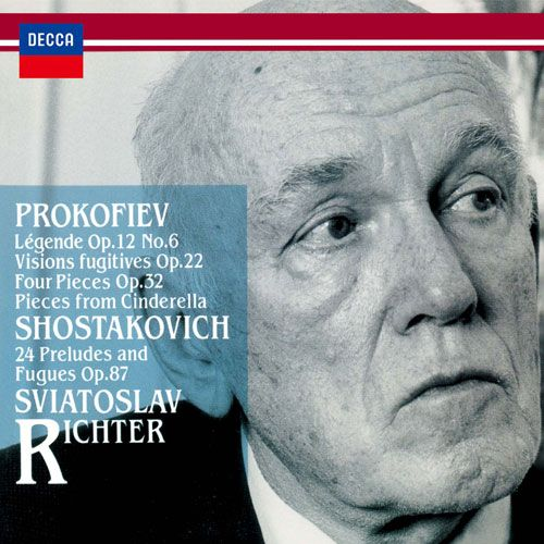 Prokofiev: Légende; Vission fugitives; Four Pieces; Pieces from Cinderella; Shostakovich: 24 Preludes and Fugues Op
