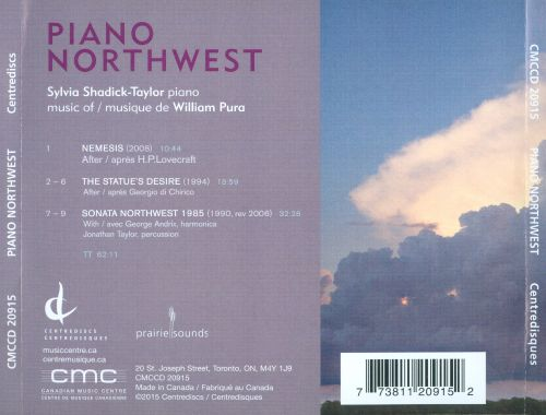 Piano Northwest: Music of William Pura