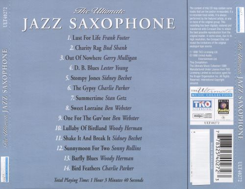 The Ultimate Jazz Saxophone