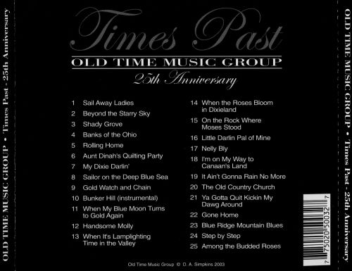Times Past 25th Anniversary