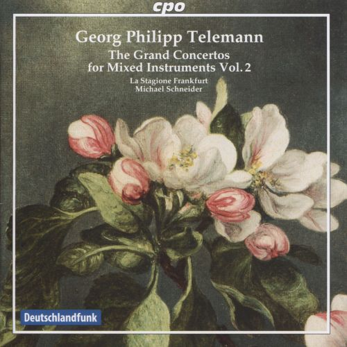 Georg Philipp Telemann: The Grand Concertos for Mixed Instruments, Vol. 2