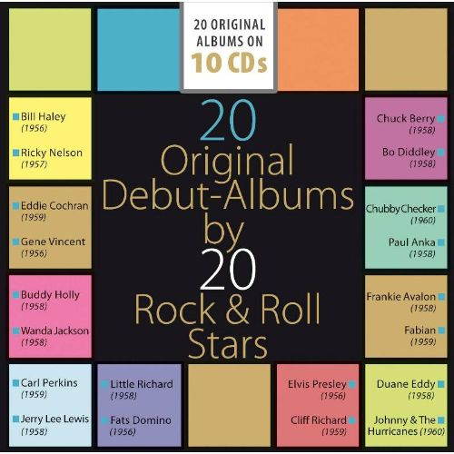 20 Original Debut Albums by 20 Rock & Roll Stars