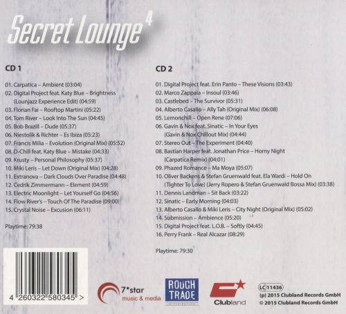 Secret Lounge 4: The Finest In Chill Out And Ambient Music