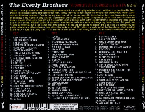 The Complete U.S. & U.K. Singles As & Bs and EPs 1956-1962