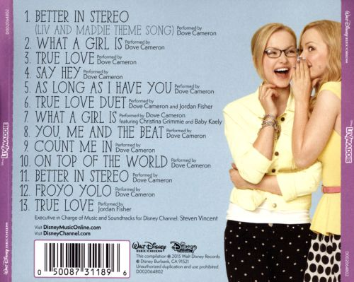 Liv and Maddie [Original Motion Picture Soundtrack]