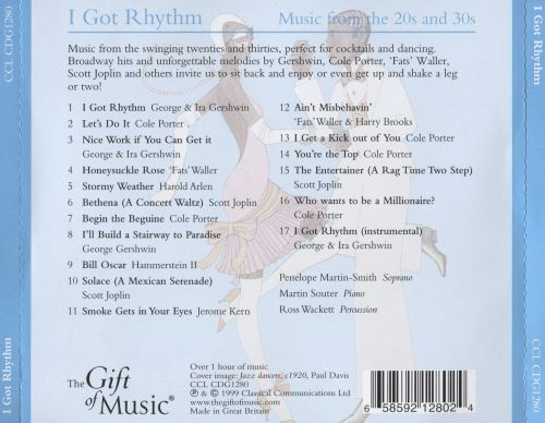 I Got Rhythm: Music From the 20s & 30s