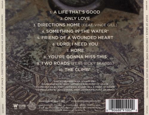 Directions Home (Songs We Love, Songs You Know) - Point of Grace ...