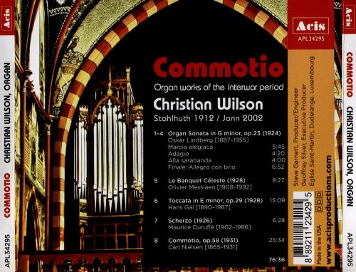 Commotio: Organ Works of the Interwar Period