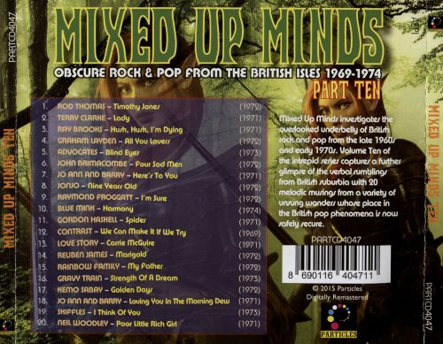 Mixed Up Minds Part Ten: Obscure Rock & Pop From the British Isles 1969-1974