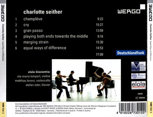 Charlotte Seither: Equal Ways of Difference
