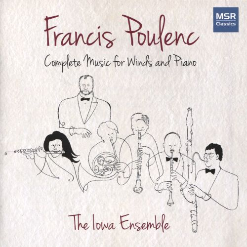 Francis Poulenc: Complete Music for Winds & Piano